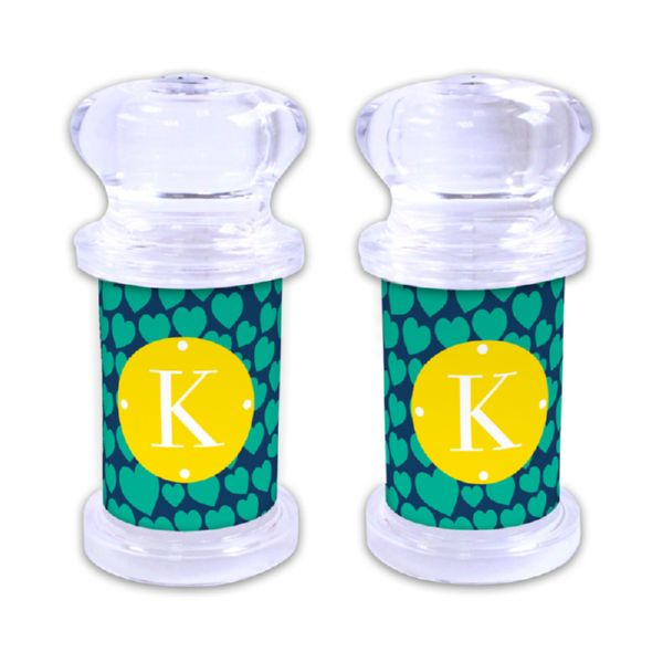 Love Struck Personalized Salt and Pepper Shaker