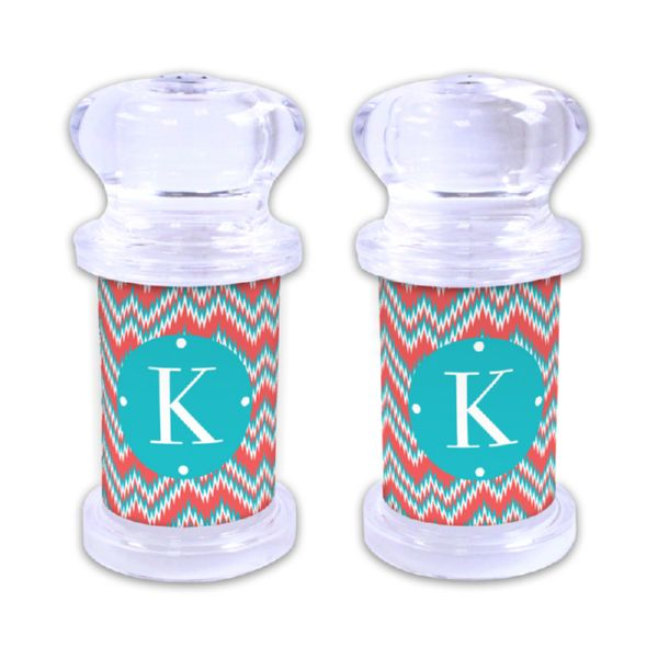 Mission Fabulous Personalized Salt and Pepper Shaker