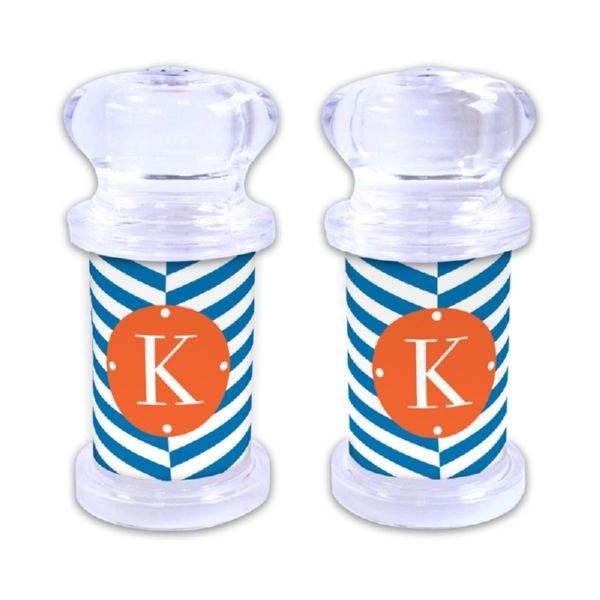 Perspective Personalized Salt and Pepper Shaker