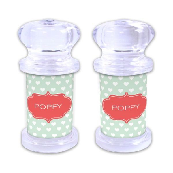 Minnie Personalized Salt and Pepper Shaker