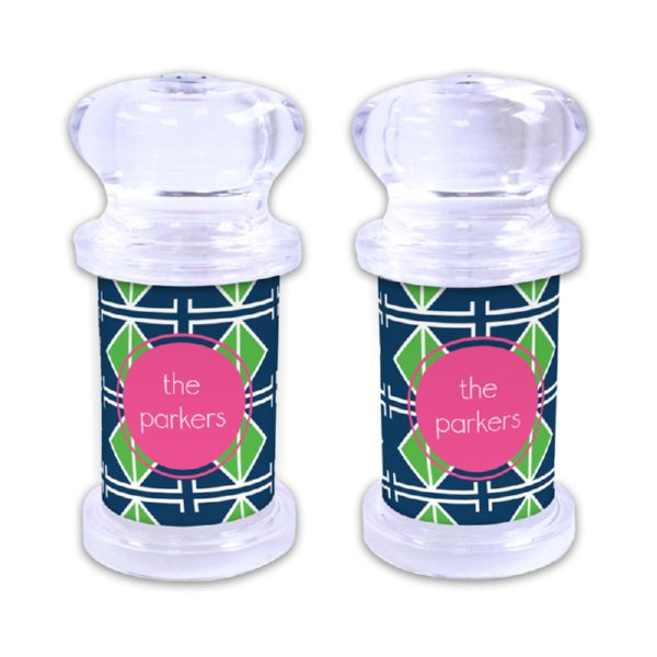 Table Tennis Personalized Salt and Pepper Shaker