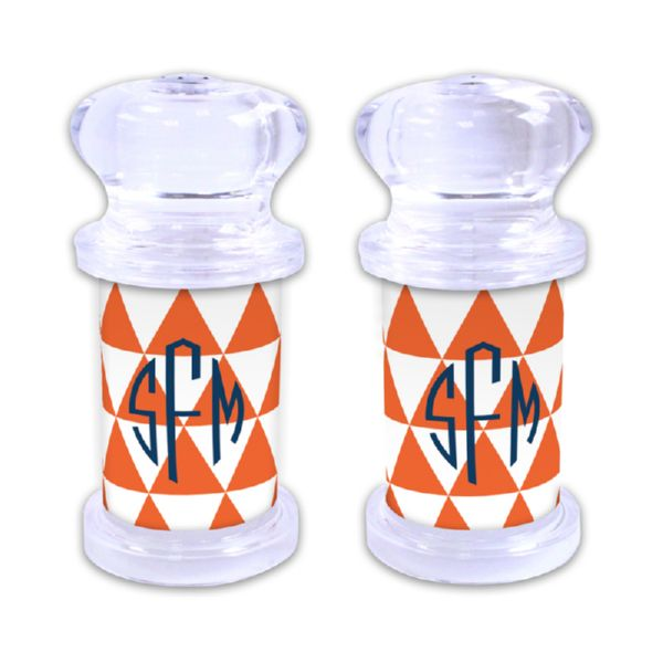 Triangles Personalized Salt and Pepper Shaker