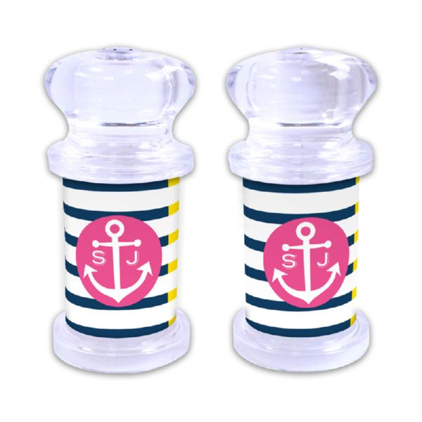 Twice As Nice Personalized Salt and Pepper Shaker