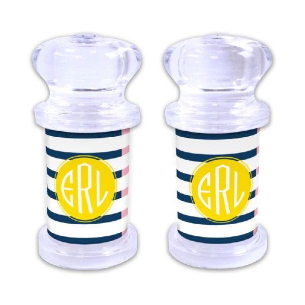 Twice As Nice 3 Personalized Salt and Pepper Shaker