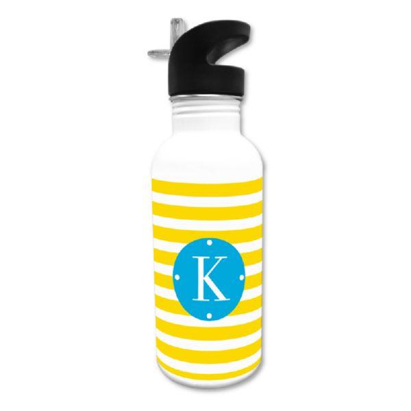 Cabana Personalized Water Bottle, 20 oz.