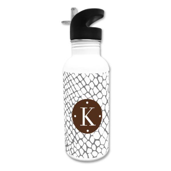 Snakeskin Personalized Water Bottle, 20 oz.