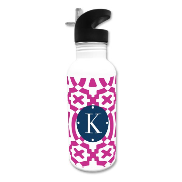Poppy Personalized Water Bottle, 20 oz.