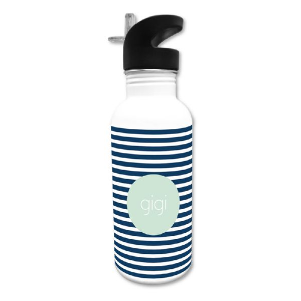 Cabana 3 Personalized Water Bottle, 20 oz.
