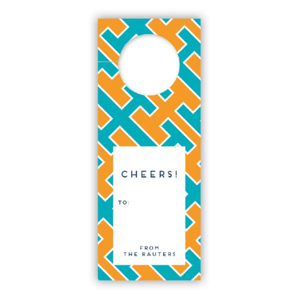 Acapulco Personalized Wine Tags, set of 8