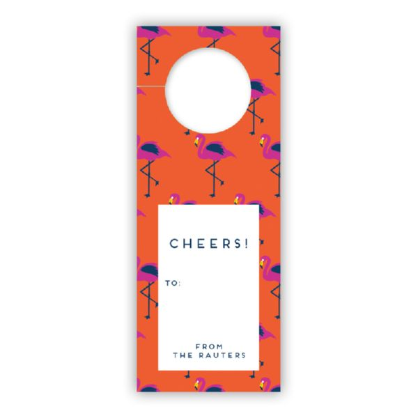 Hadley Personalized Wine Tags, set of 8