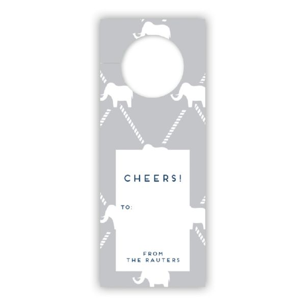 Dumbo Personalized Wine Tags, set of 8