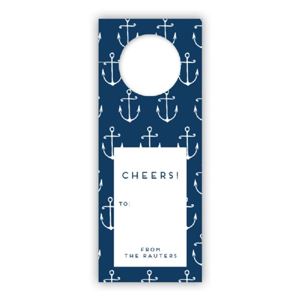 Salty Personalized Wine Tags, set of 8