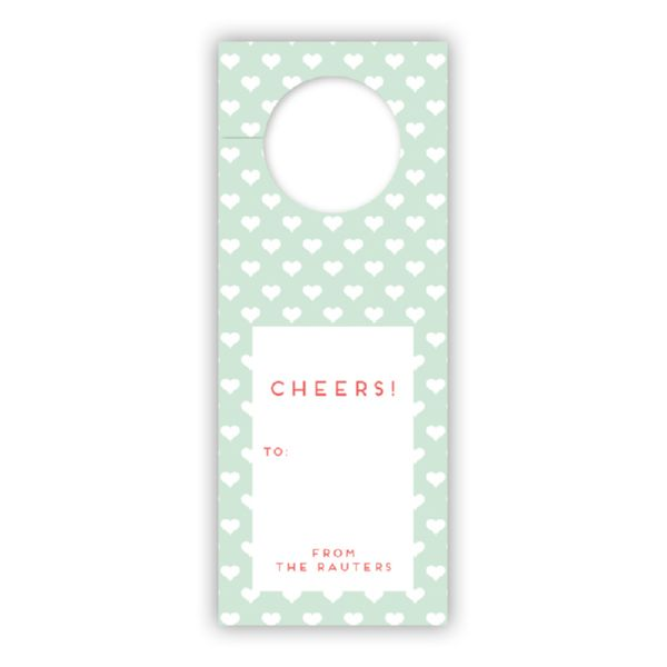 Minnie Personalized Wine Tags, set of 8