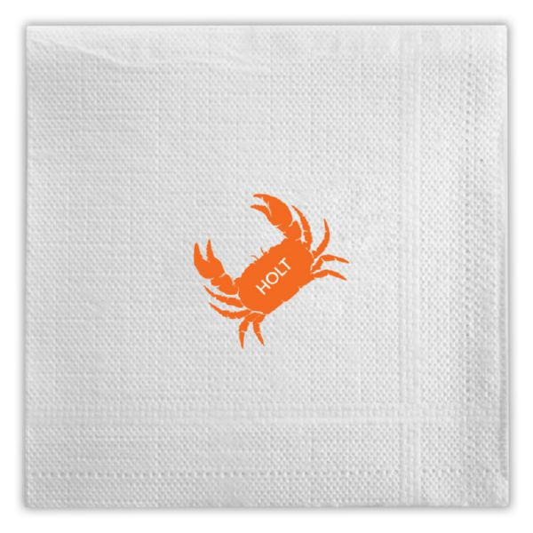 Beverage Napkin with Monogram (50)