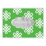 Clementine Foil Personalized Mini Folded Note with Foil Accent (25 cards)