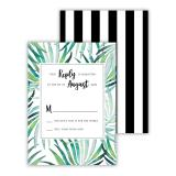 Palms 25 Personalized Response Cards