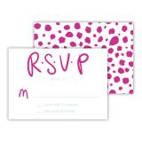 Yay! 25 Personalized Response Cards