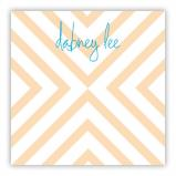 Chevron Personalized Huey Square NotePad (150 sheets)