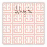 Greek Key Personalized Huey Square NotePad (150 sheets)