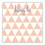 Triangles Personalized Huey Square NotePad (150 sheets)
