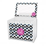 Remi Personalized Recipe Box with 48 Recipe Cards, Tabs & a Lucite Box