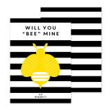 Bee Personalized Valentines Day Cards