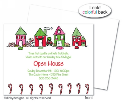 From our home to yours flat notes, invitations or announcements, personalized