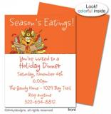 Thomas Turkey flat notes, invitations or announcements, personalized by Dinky Designs