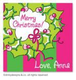 Rosie posie wreath gift tags or insert cards, personalized by Dinky Designs