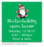 Ho-ho-holiday gift tags or insert cards, personalized by Dinky Designs