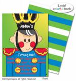 Sammy soldier invitations, announcements or holiday greeting cards, personalized  by Dinky Designs