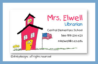 School house rock calling cards, personalized