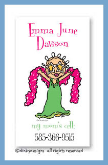 Star jane calling cards, personalized