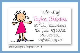 Jane calling cards, personalized