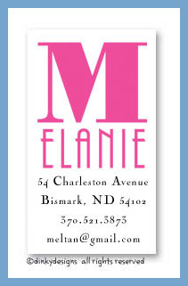 You name it calling cards, personalized