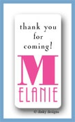 You name it calling card stickers personalized