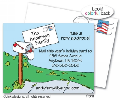 You've got mail flat notes, personalized