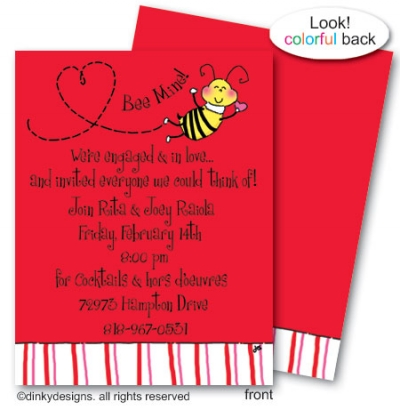Bee mine flat notes, personalized
