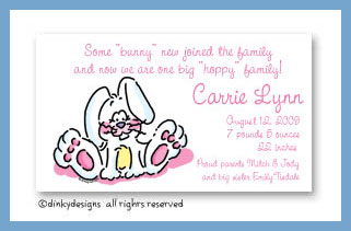Ellie the bunny magnets 3.5