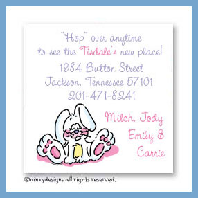 Ellie the bunny magnets 3
