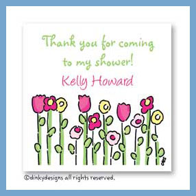 Petal pushers gift cards, personalized