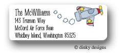 Been flying return address labels personalized