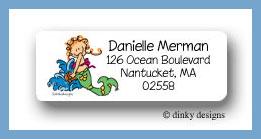 Merjane return address labels personalized