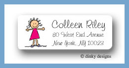 Jane return address labels personalized