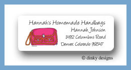 Sorbet satchel return address labels personalized