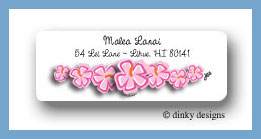 Tropicana string return address labels personalized