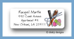 Stylist stuff return address labels personalized