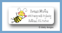 Bee mine return address labels