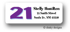 Forever 21 return address labels personalized