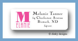 You name it return address labels personalized